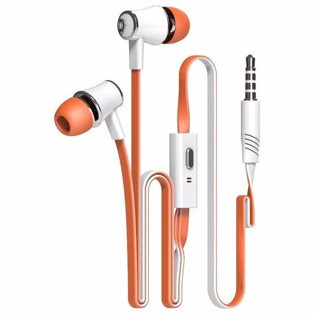 Langsdom Mijiaer JM21 In ear Earphones For Phone iPhone Huawei Xiaomi Headsets Wired Earphone Earbuds Earpiece fone de ouvido 3