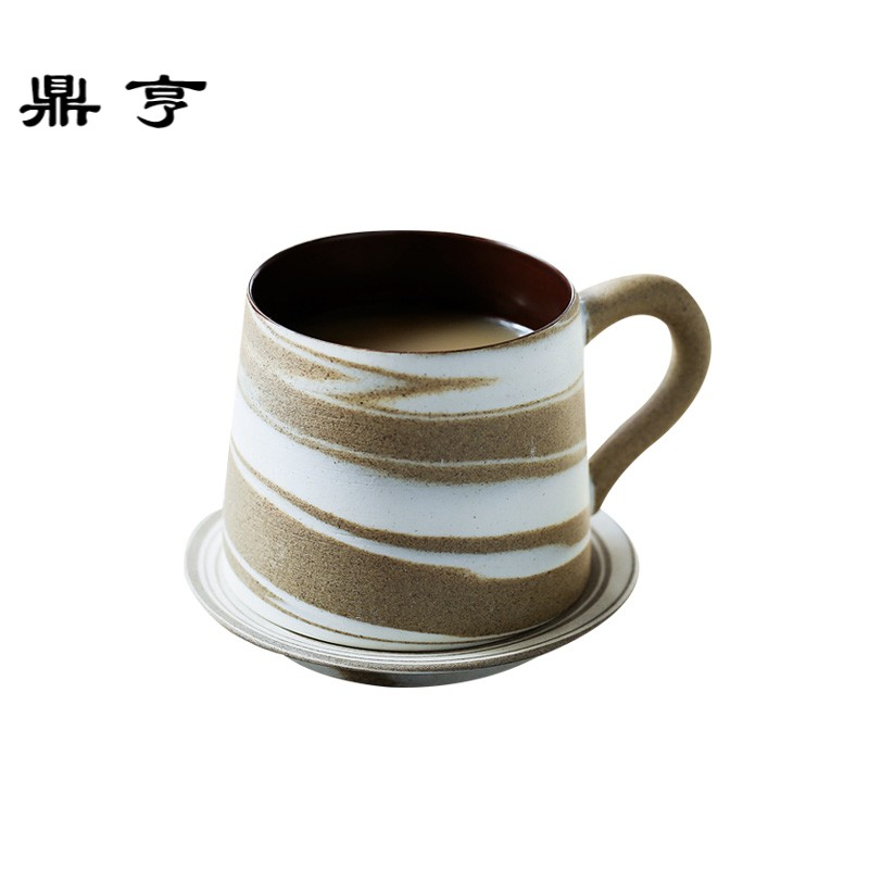 Luxury Small Coffee Cup and Saucer Ceramic Reusable Unbreakable Porcelain Japanese Cup Chavenas De Cafe Daily Supplies 50CS50