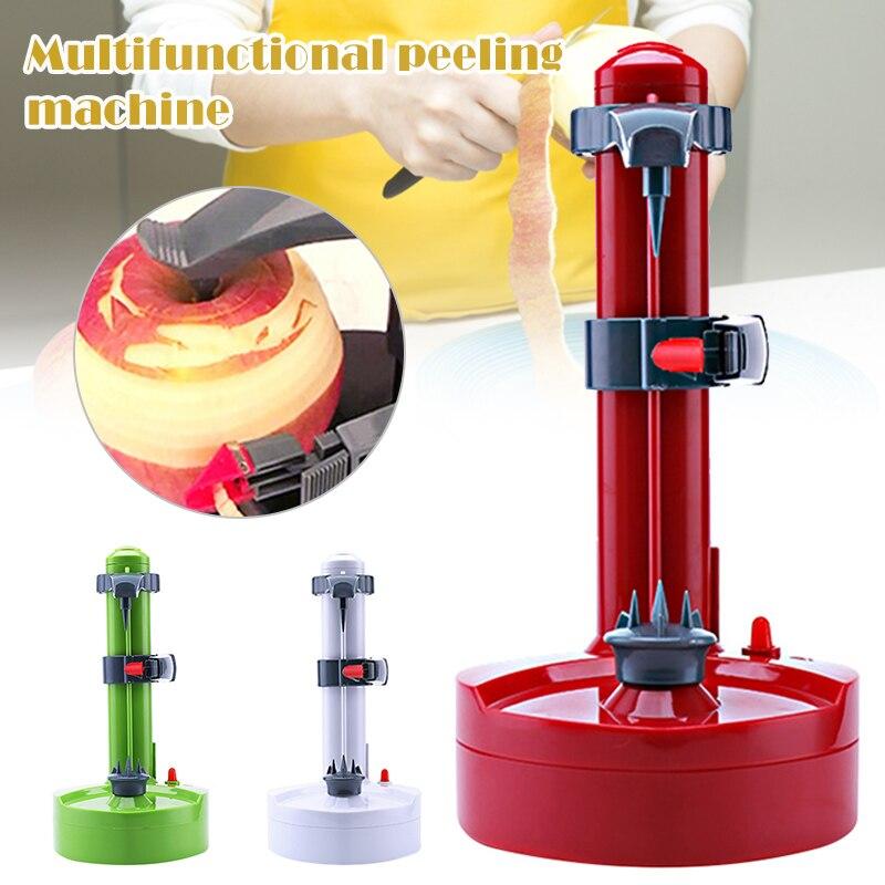 Hot Electric Automatic Peeler Multifunctional Potato Fruit Orange Peeling Machine Portable Stainless Steel Peeling Machine FKU66