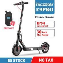 IScooter – Trottinette électrique intelligente à lumière LED pour adulte,modèle pliant ressemblant à un skateboard, 350 W,