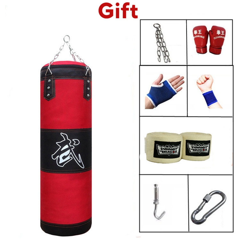 Professional  Boxing Punching Bag Training Fitness With Hanging Kick Sandbag Adults  Gym And Indoor Exercise Heavy Boxing Bag