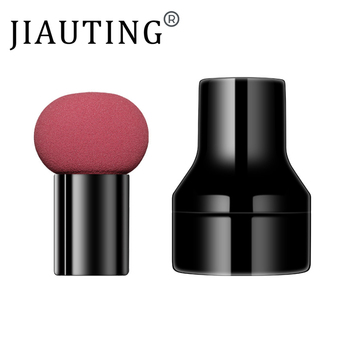 JIAUTING Makeup Sponge Cosmetic Puff with Handle Puff For Foundation Concealer Cream Powder Puff Smooth Women's Makeup 1Pc 6