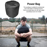 Strongman Cylinder Sandbags Heavy Duty Training Gym Workout Fitness Power Sandbag Cross Training Weightlifting Stone Lift  X316D