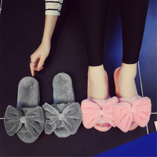 цена на Whoholl Brand Slippers Women Summer Bow Summer Sandals Slipper Indoor Outdoor Flip-flops Beach Shoes Female Fashion Shoes 35-40