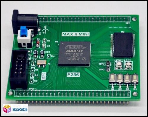 INTEL ALTERA MAX II CPLD EPM2210F256 System Development Board SRAM IO104