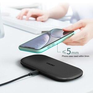Image 5 - CHOETECH Qi Pad di Ricarica Caricatore Senza Fili 18W 5 Bobine per iPhone12 X Max 8 Veloce Wireless Pad di Ricarica per airPods 2 Pro