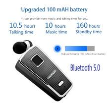 FineBlue F970 Pro Call การสั่นสะเทือนไร้สายบลูทูธคลิปชุดหูฟังแฮนด์ฟรีไมโครโฟนหูฟังสเตอริโอหูฟัง
