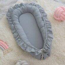 Crib Baby Cot-Cradle Bassinet Newborn Bed Nest Cotton Bumper Portable Children's 95--60cm