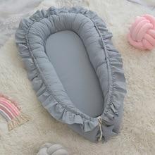 Bed-Bumper Nest Baby Cradle for Portable Crib Girls Infant Boys Children