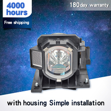 Projector Bare Bulb DT01022 Lamp for Hitach i CP-X2511/CP-X2511N/CP-X2514WN/CP-X2515WN/CP-X3010/CP-X3010N/CP-X3010Z with housing compatible projector bulb projector lamps with housing dt00471 for cp x430 hx2080 2080a