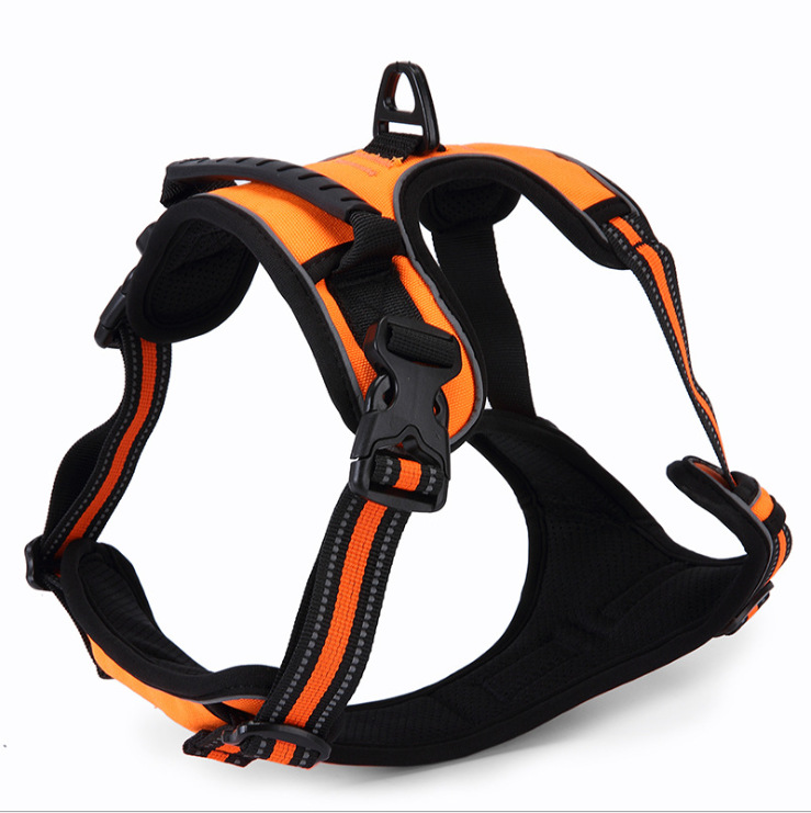 [New Products] 2020 Pet Dog For Chest And Back Adjustable-Chest And Back With Large Dog Pet Supplies