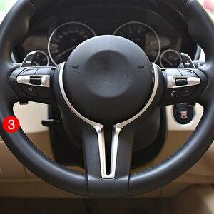 Image 5 - BMW F10 F30 F20 F48 F25 F32 원격 크루즈 컨트롤 속도 버튼 스위치 시프트 기어 패들 용 스티어링 휠 커버 키트 업그레이드