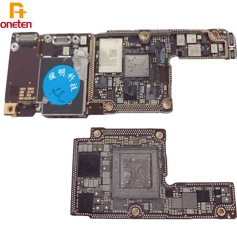 CNC Motherboard For iphone X XS XR XSMAX ID CNC Mainboard Use For Swap Keep Phone Data  ID Motherboard  Baseband Big CPU Tool Parts    - AliExpress
