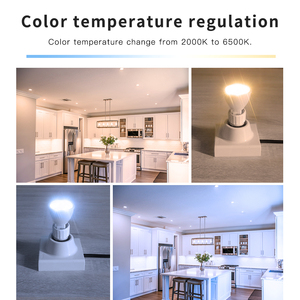 Image 3 - Smart Home ZigBee Voice Control RGBW 4W MR16 Bulb DC12V LED RGBCCT Spotlight Color and White Smart LED Work with Echo Plus Hub