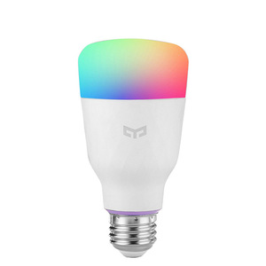 Image 5 - Умная Светодиодная лампа Yeelight 1S E27, цветная лампа с дистанционным управлением через приложение, Wi Fi, для xiaomi mijia MI home