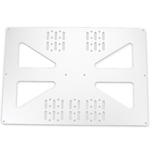лучшая цена 3D Printer Parts Heating Platform Z-Axis Support Aluminum Plate for Prusa I3 / Wanhao Support Plate V3 300 Heatbed