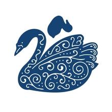 YaMinSanNiO Animal Swan Metal Cutting Dies Scrapbooking New for 2019 Craft Embossing Cuts Card Making Stencils