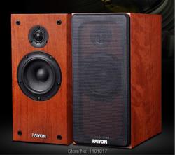 PAIYON P6 Passive Bookshelf Speakers HIFI EXQUIS Two-way 5.25 Vifa woofer 60W Hifi Speaker