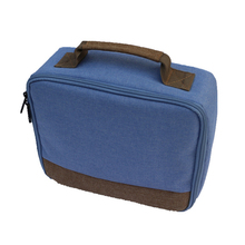 Органайзер, холст, унисекс, упаковка, дорожная сумка для хранения, компактный, анти шок, твердый, Повседневный, на молнии, защита для Canon CP1200 CP1300