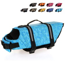 Pet Dog Life Jacket Summer Swimsuit Preserver Pet Floatation Vest XS-XL