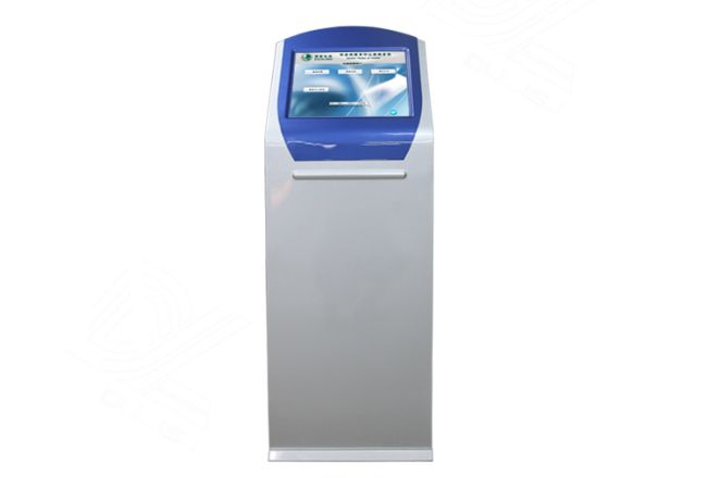 19 Inch Touch Screen Terminal Payment Kiosk Self Service Kiosk Ticket Dispenser Kiosk With Keyboard