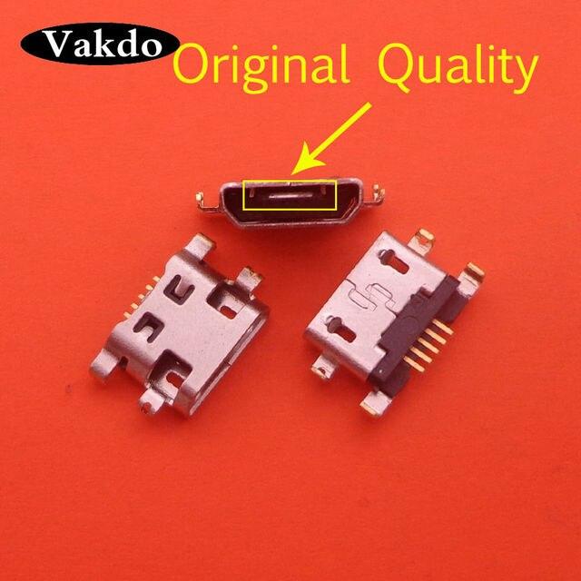 مقبس Micro Usb ، 100 قطعة ، منفذ شحن ، قطع غيار لـ ALCATEL POP 3 OT 5015 5015X 5015D POP3