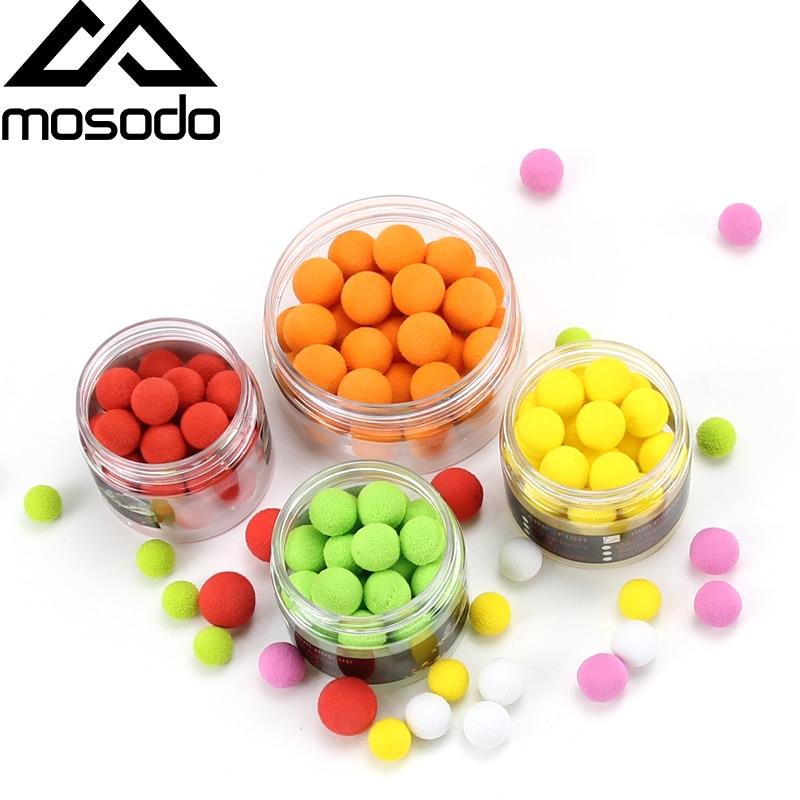 Mosodo Carp Fishing Boilies Float Beads Eva Pop Up 10mm 12mm 14mm Tasteless Bait 32pcs 30pcs 26pcs Popup Lure Fishing