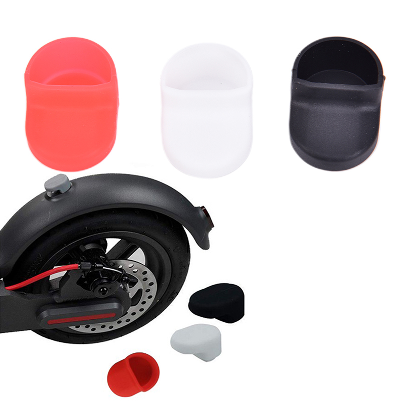 1pc M365 Outdoor Electric Scooter Accessories Rear Fender Hook After Pedal Fender Shield Silicone Cover Elect For Scooter