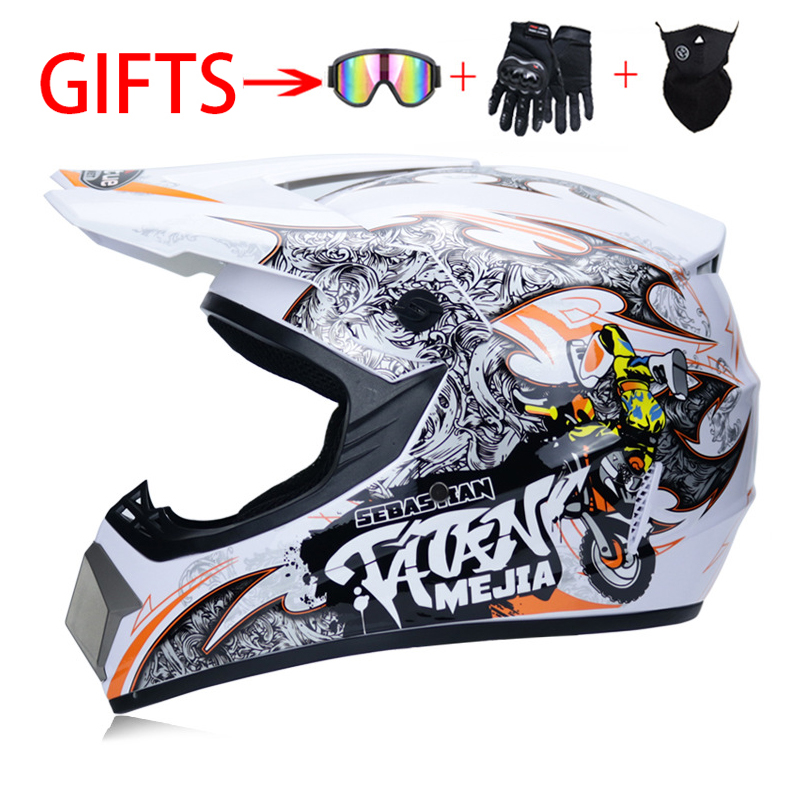 KKmoon moto casco adulto motocross off Road Racing caschi S