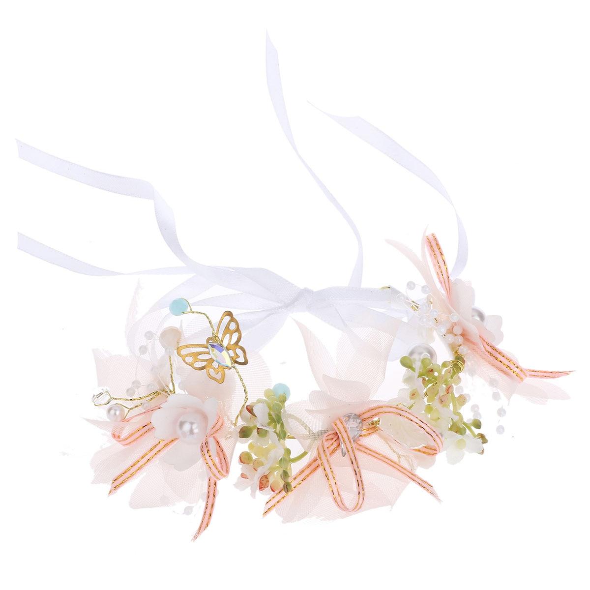 Подружка невесты цветы на запястье сестры Ручные цветы Искусственные Свадебные цветы для Свадебные, для танцевальной вечеринки декор для с...