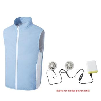 Fan Vest Air Conditioning Clothing Male Smart Fan Clothing Cooling Cooling Usb  Charging Clothing Welding Cooling Clothing air conditioning vest cooling clothing aluminum alloy vortex tube worker welding cool clothes for high temperature environment