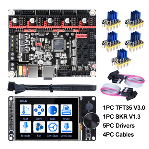 BIGTREETECH SKR V1.3 32Bit Board+TFT35 V3.0 Touch Screen+5pc TMC2208 TMC2209 UART TMC2130 spi 3D Printer Parts MKS SGEN gen L(China)