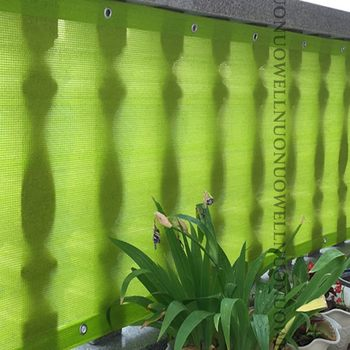 80x18 0/270/360cm verde esmeralda sun sombra velas hdpe anti-uv pára-sol redes varanda cerca de segurança pátio flor jardim net capa