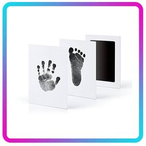 Ink-Pads-Kits Souvenir Skin Inkless Handprint Non-Toxic Newborn No-Touch Baby 0-6-Months