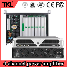 TKL 4 channle 1300*4 PS4 power amplifier for large stage marriage occasions HlFl DJ professional power amplifier