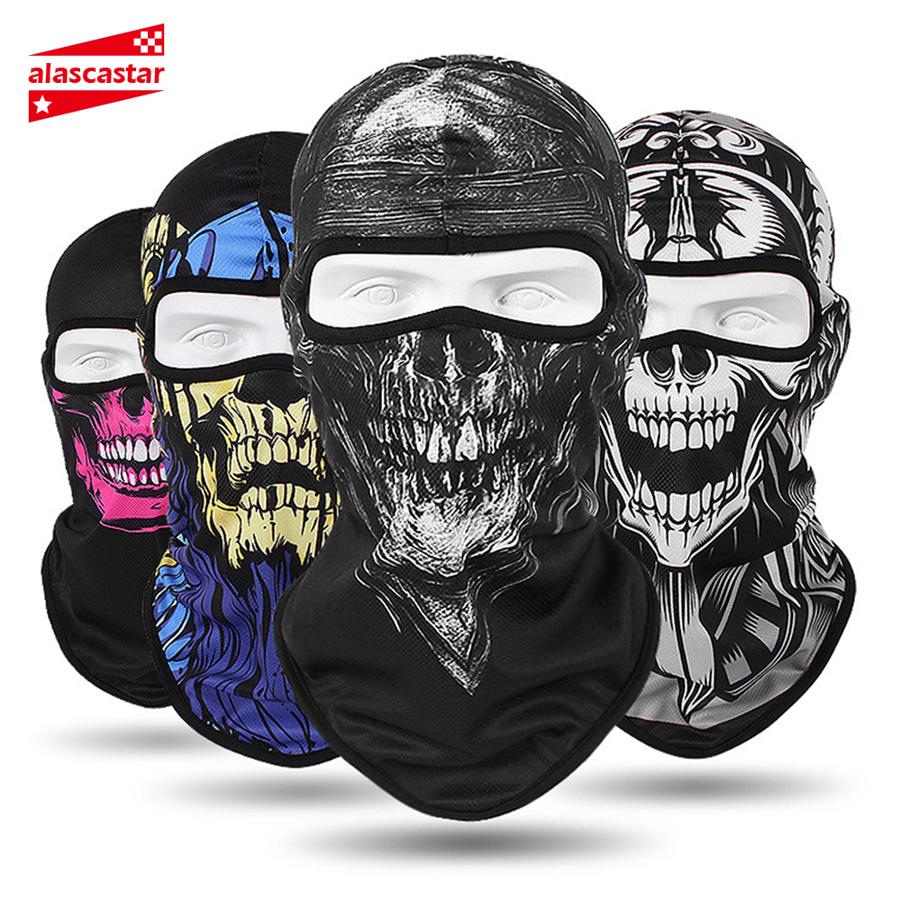 HEROBIKER Motorcycle Face Mask Balaclava Men Quick Dry Summer Motorcycle Masque Moto Helmet Scarf Skull Mask#
