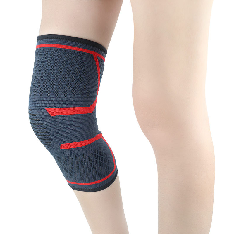 Sports Knee Pad Outdoor Riding Mountaineering Leg Running Sleeves Four-way Elastic Non-slip Warm Nylon Kneepad Mens Knee Sleeve