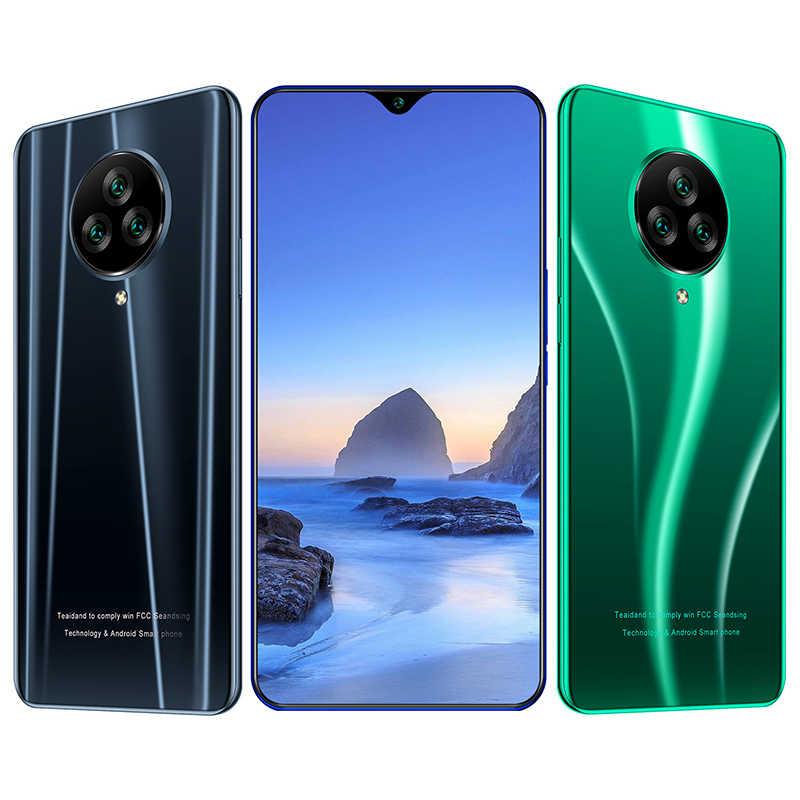 """Trò Chơi A50 3G 6.5 """"19:9 Waterdrop Màn Hình Điện Thoại Di Động Android 9.0 1GB + 4GB MT6580 quad Core Dual Sim 5MP Camera 3000 MAh"""