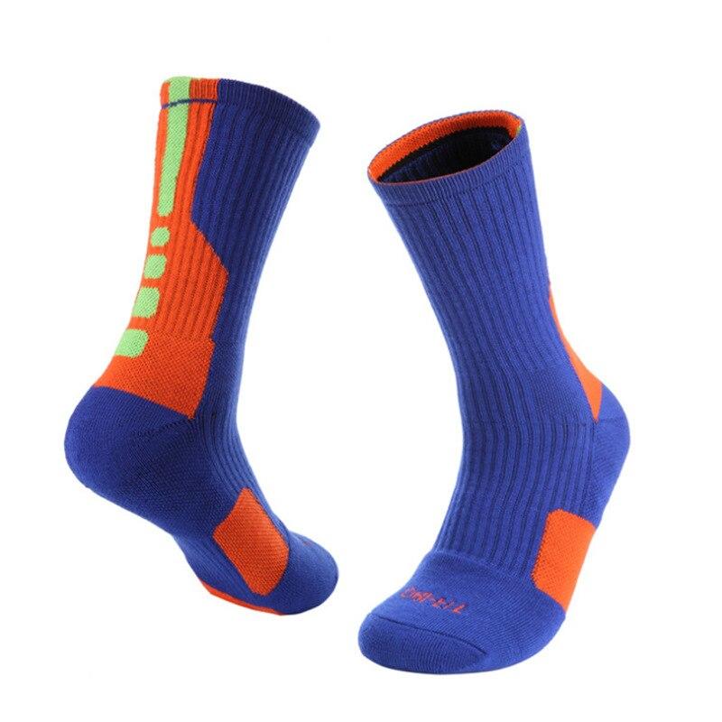 Хит продаж, баскетбольные носки супер звезды, элитные толстые спортивные носки, Нескользящие прочные носки для скейтборда