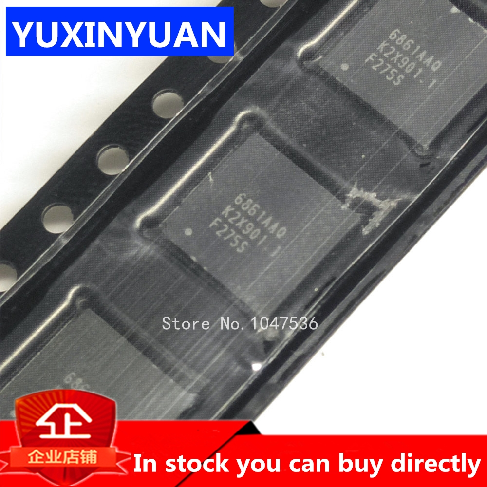 1PCS AT6861AAQ 6861AAQ IC QFN48 LCD CHIP