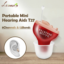 CIC Digital 4/6/8 Channels 8/12 Bands Hearing Aid China cheap mini Invisible hearing Aids ear sound amplifier for eldly
