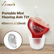 Cic digital 4/6/8 canais 8/12 bandas aparelho auditivo china barato mini invisível aparelhos auditivos ouvido amplificador de som para eldly