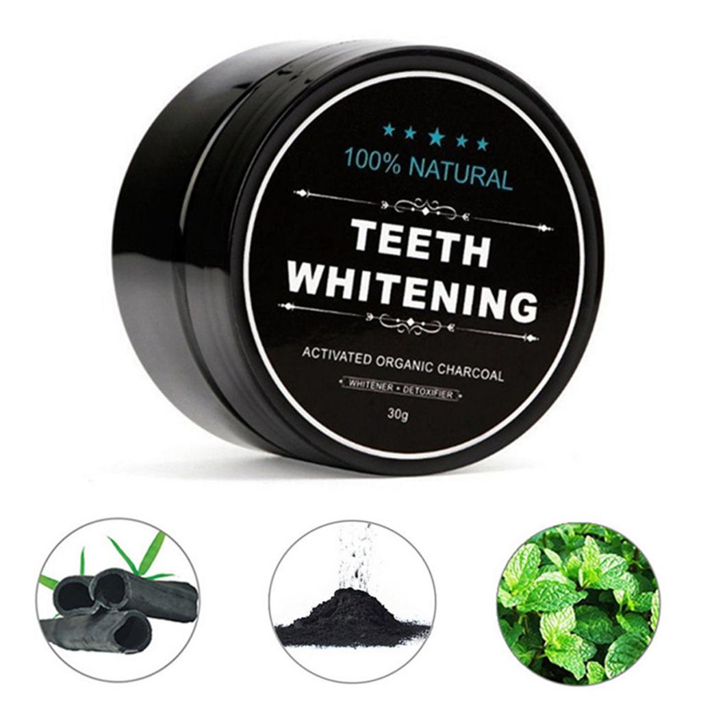 Yellow Teeth Whitening Powder Natural Activated Charcoal Powder with Activated Coconut Shell Charcoal Teeth Whitening Toothpaste 1