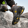 RAX Men's Hiking Shoes Mountain Trekking Boots High Quality Fashion Outdoor Casual Snow Winter