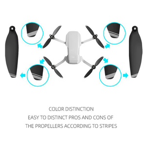 Image 5 - Sunnylife 4 pares hélices dobráveis 4726f hélices de baixo ruído para dji mavic mini drone acessórios