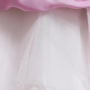 Image 5 - Girls Unicorn Flowers Cake Tutu Dresses With Beadbad for Kids Princess Fancy Birthday Theme Party Costumes 1 10 Years Pink Blue