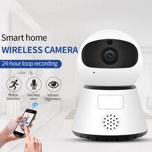 720/1080P PTZ Беспроводная мини ip-камера с функцией Обнаружения Движения инфракрасное ночное видение домашнее охранное наблюдение Wifi камера облачный сервис