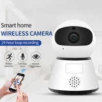 720/1080 p ptz sem fio mini câmera ip movimento detecção visão noturna infravermelha de vigilância segurança em casa wi-fi serviço nuvem