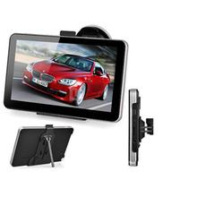 7 pulgadas 256 + 8GB portátil HD pantalla táctil coche GPS navegador coche brújula Norte/Sudamérica Europa mapas de navegación por satélite