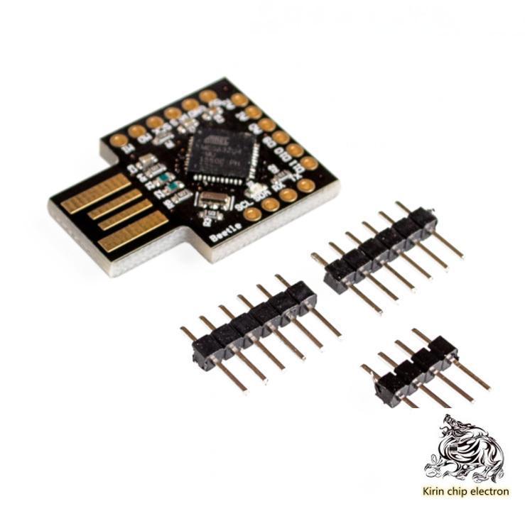 2pcs / Lot MCU Beetle Leonardo USB Atmega32u4 Mini Development Board